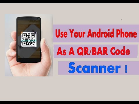 How to QR and Barcode Scan With a Android Phone without app