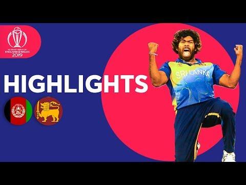 Xxx Mp4 Malinga On Fire Afghanistan Vs Sri Lanka ICC Cricket World Cup 2019 Match Highlights 3gp Sex