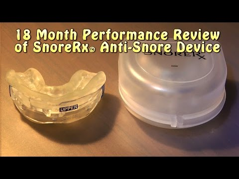SnoreRx © 18 month Performance Review