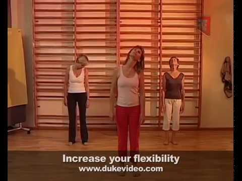 Fitness for the over 50's - Increase Flexibility