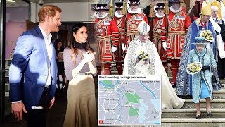 Prince Harry & Meghan Markle unveil more details on royal wedding plans of the big day