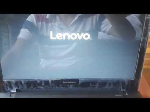 Como Ingresar al Set Up de la Bios en Lenovo Serie G50