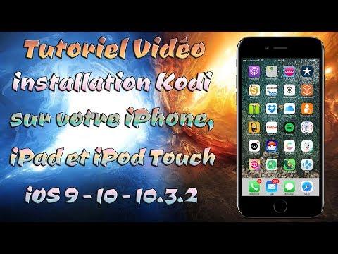 Comment installer l'application Kodi sur votre iPhone, iPod Touch, iPad iOS 9 - 10 - 10.3.2