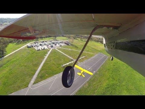 Multiplex Twister on board camera strafing cub