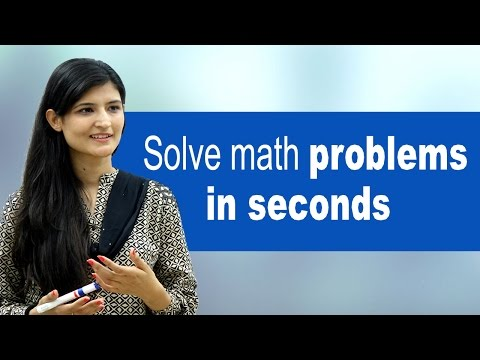 Smart Math Techniques - Solve maths problems in seconds