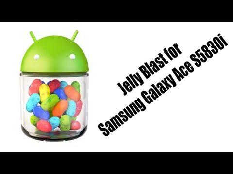 Install Jelly Blast on Samsung Galaxy Ace s5830i
