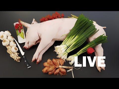 Episode #6 - Monday's Live Studio Barbecue Recipe Recordings