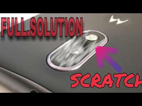 How to Remove Scratches from Camera Lens! Android & iOS