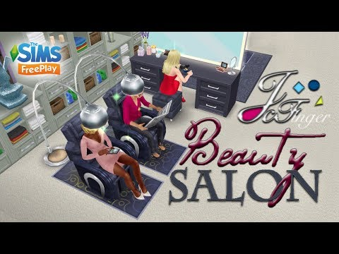 The Sims FreePlay 💄BEAUTY SALON  💇🏼 By Joy.