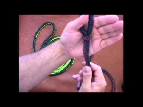 The Paracord Weaver: Leash - Long Lead Snake Weave Update