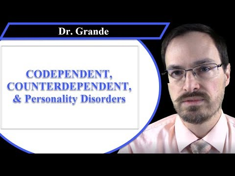 What is the Relationship Between Codependent and Counterdependent Traits and Personality Disorders?