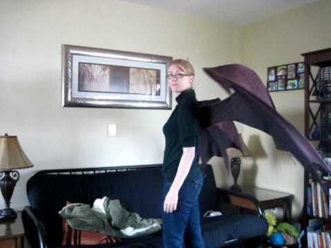 Chrono cosplay wings