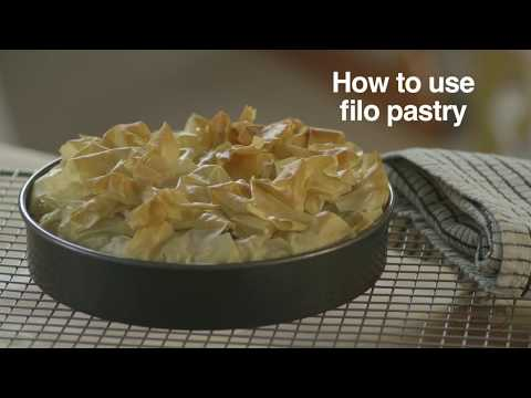 How to use filo pastry
