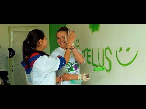 TELUS Day of Giving, Romania – 2014