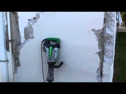 How to break a concrete wall!!