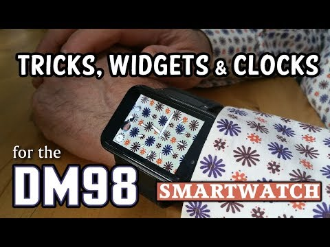 DM98 Smartwatch: Widgets, Clocks, and a new UI  *NO ROOT*
