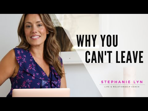 Why you CAN'T Leave an Abusive Relationship | TRAUMA BONDING (Stephanie Lyn Coaching)