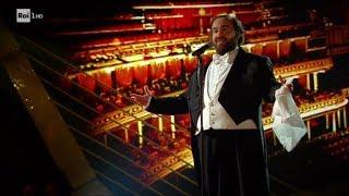 """Piero Mazzocchetti interpreta Luciano Pavarotti: """"'O sole mio"""" - Tale e Quale Show 20/10/2017"""