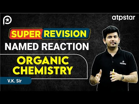 Super Revision-  Named Reactions in Organic Chemistry