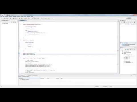 Java 2D Game Programming RPG Tutorial - Part 3 - Fix Bug & Create Game Loop