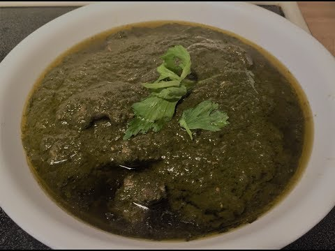 Palak Gosht (Daigi) – Mutton with Spinach - Exotic Recipes Made Simple By Moonis Meer.