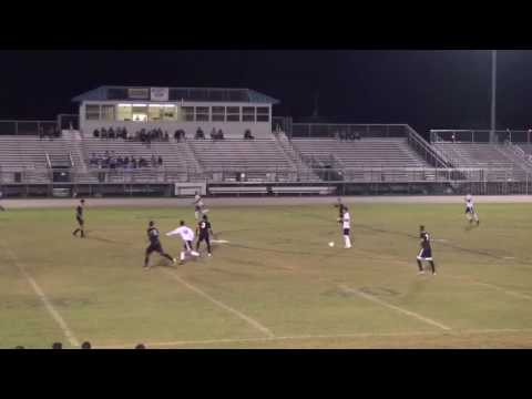 Anthony Davis soccer recruiting video