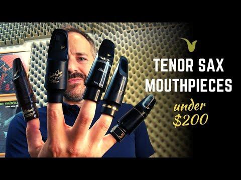 Best Tenor Saxophone Mouthpieces Under $200
