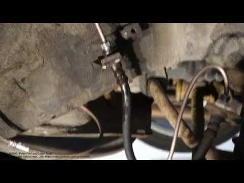 Tip. How to notice leak in brake fluid system pipe and hose