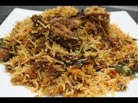 BOMBAY BIRYANI with home made biryani masala//Bombay style biryani