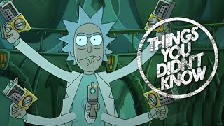 7 Things You (Probably) Didn't Know About Rick and Morty