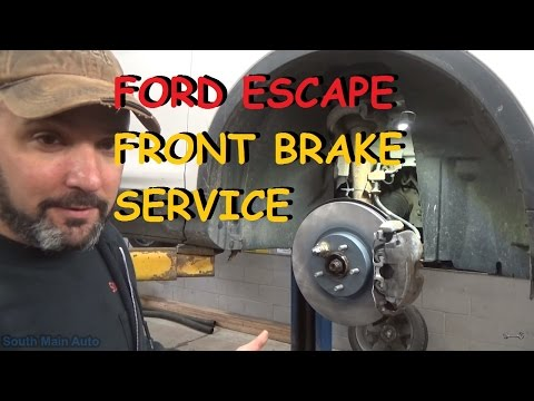 Ford Escape - Front Brake Pads & Rotors