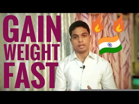 How to gain weight fast | Gain 1 kg weight in 2 weeks | Diet for weight gain.