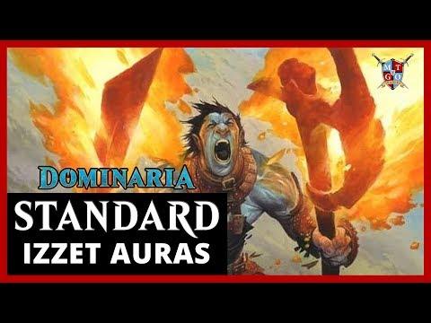 MtG: Izzet Auras Dominaria Standard Deck Tech