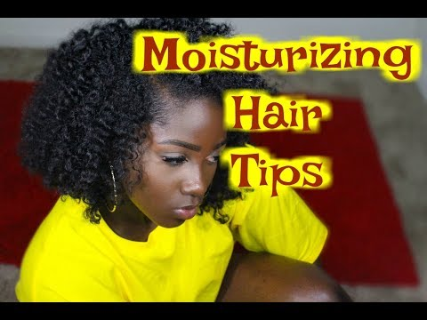 HOW TO Keep Natural Hair Moisturized| My moisturizing natural Hair Technique