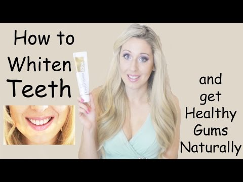 How to whiten your Teeth and get healthy Gums naturally