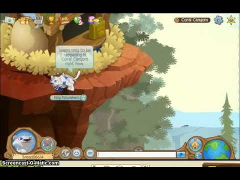 Animal Jam: Coral Canyons Glitch - Everyone Can Fly!