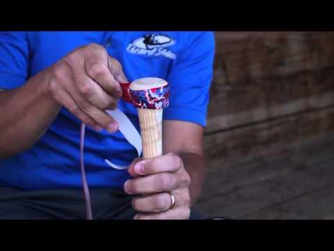 Lizard Skins Bat Grip How To Install - Pro Tip Enhanced Grip | Bat Wrap | Baseball Bat Grip Tape