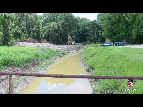 Vermilion Parish and DOTD work to solve flooding at LA 14 bypass
