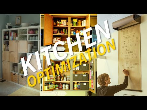 13 DIY Projects To Better Optimize Your Kitchen Space