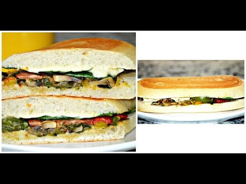 Grilled Veggie Panini Recipe