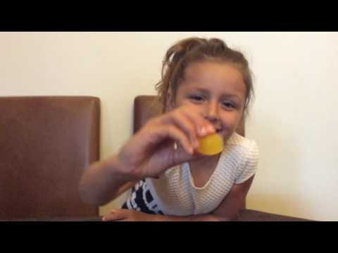 ICE CUBE CHALLENGE - Ava guessing different flavoured ice cubes