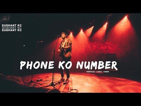 Xxx Mp4 Phone Ko Number Sushant KC X FOESEAL Vertical Lyric Video 3gp Sex