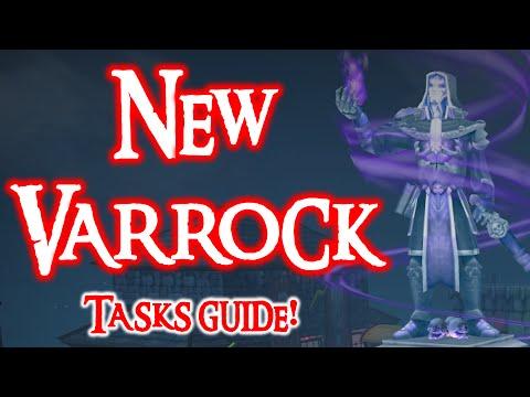 New Varrock Achievement Diary Guide! All tasks + rewards =D