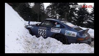 Rallye Monte Carlo Historique 2018  HD  Glisse, Crash and Mistakes
