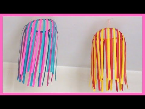 DIY Paper Ceiling Hanging | How to make paper crafts easy