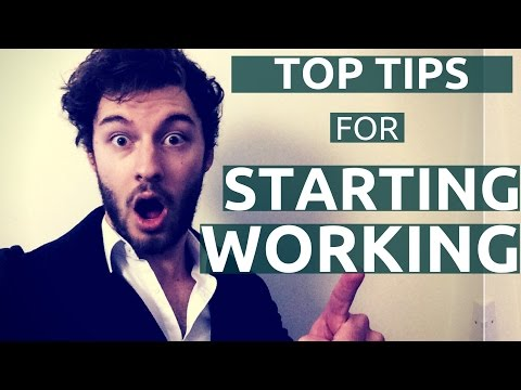 Starting Your First Job - after uni/college | ALL MY BEST TIPS.