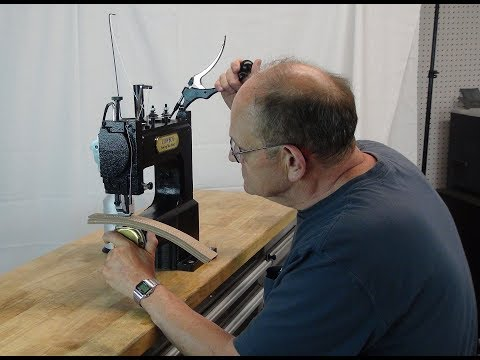 CowBoy OUTLAW hand operated manual leather sewing machine