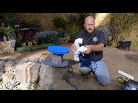 How to build a Fish Pond - Part 18 | Pond Pump Installation
