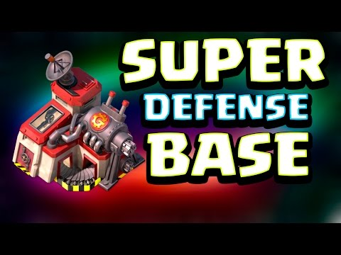 BUILDING A SUPER DEFENSE BASE LAYOUT! | Boom Beach | ICE STATUE HUNTING