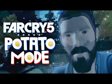Far Cry 5's Lowest Settings Brings Us To Tears   Potato Mode